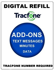 tracfone discount refill service airtime minutes data plans